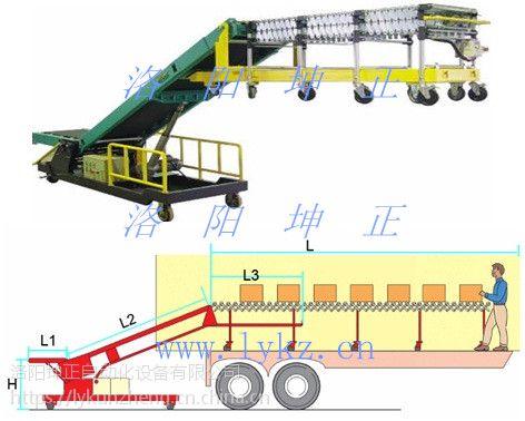 装车机滚筒伸缩装车机自动装车机洛阳坤正自动化