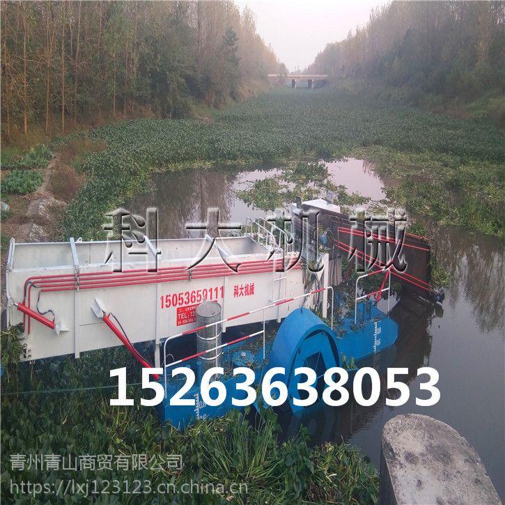 哪种水草收割船好用、河道水生植物清理船