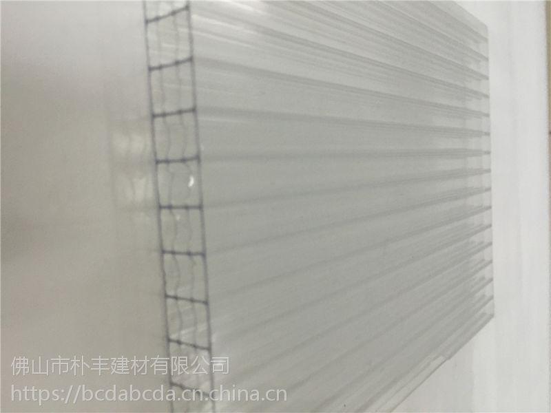 透明阳光板_透明阳光板价格_4-20mm全新料带UV透明阳光板生产厂家