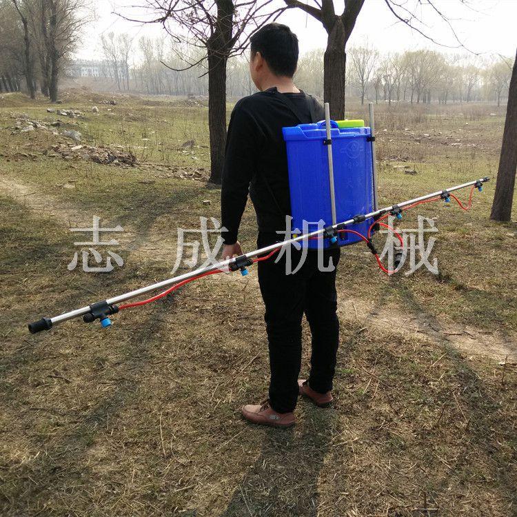新款麦田除草专用电动打药喷雾器 20L农药喷洒机 背负式电动喷壶器高效省药