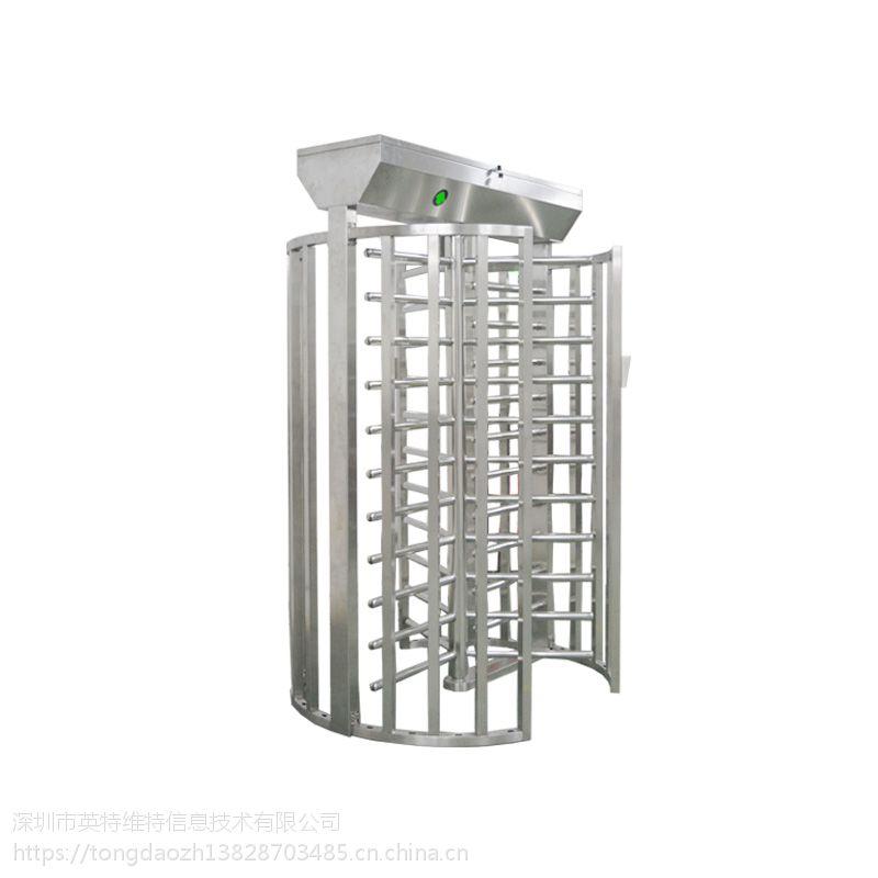 新疆不锈钢铁闸门 全高转闸 单通道全高转闸监狱转门不锈钢通道火车站旋转门