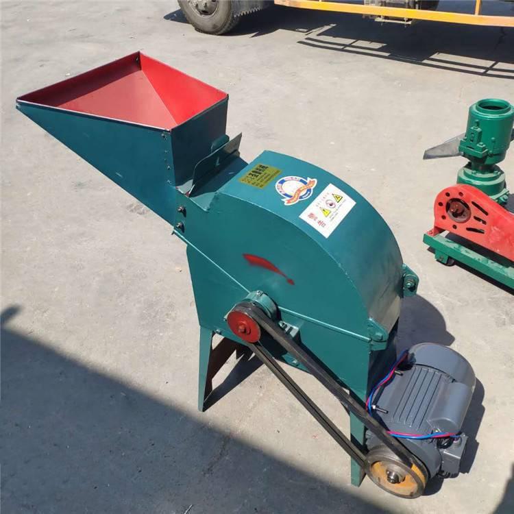 小型饲料粉碎机 家用锤片式粉草机 单相电粉粮食机