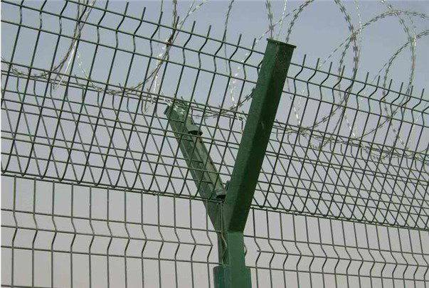 广州Y型防护栏围墙防盗网 佛山安全隔离栏定制 区域护栏网