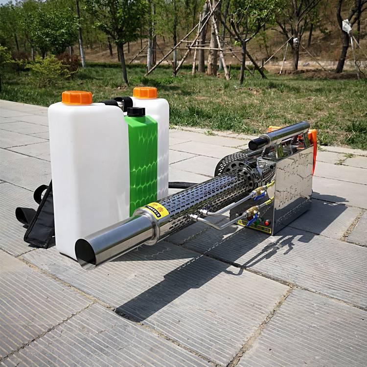 新款农用高压打药机 志成180W汽油动力弥雾机 多功能园林消杀喷雾器轻便高效