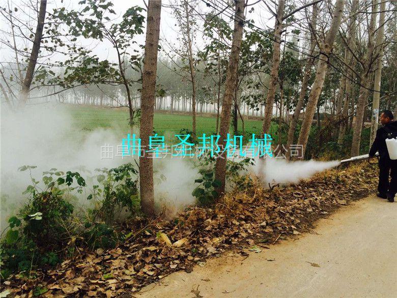 新疆葡萄专用烟雾机 小型灭虫烟雾机厂家