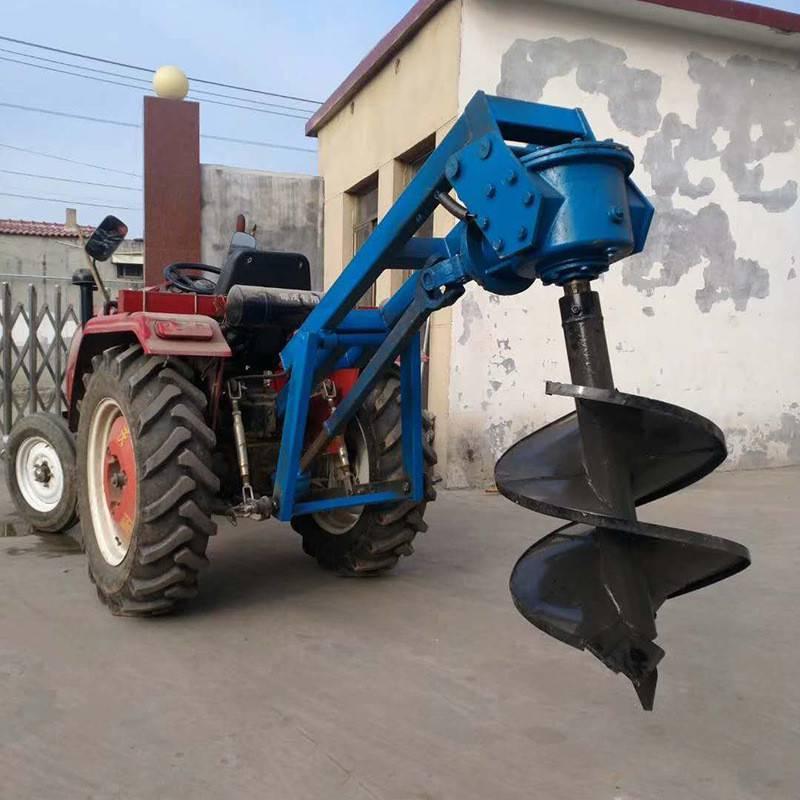 埋电线杆子挖坑机 硬土质汽油打孔机 丘陵山地打孔机价格