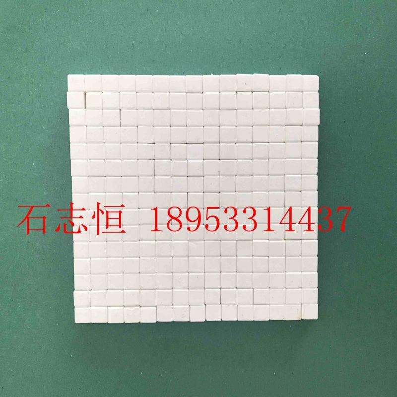 氧化铝耐磨陶瓷衬片 规格17.5*5 选粉机防磨专用