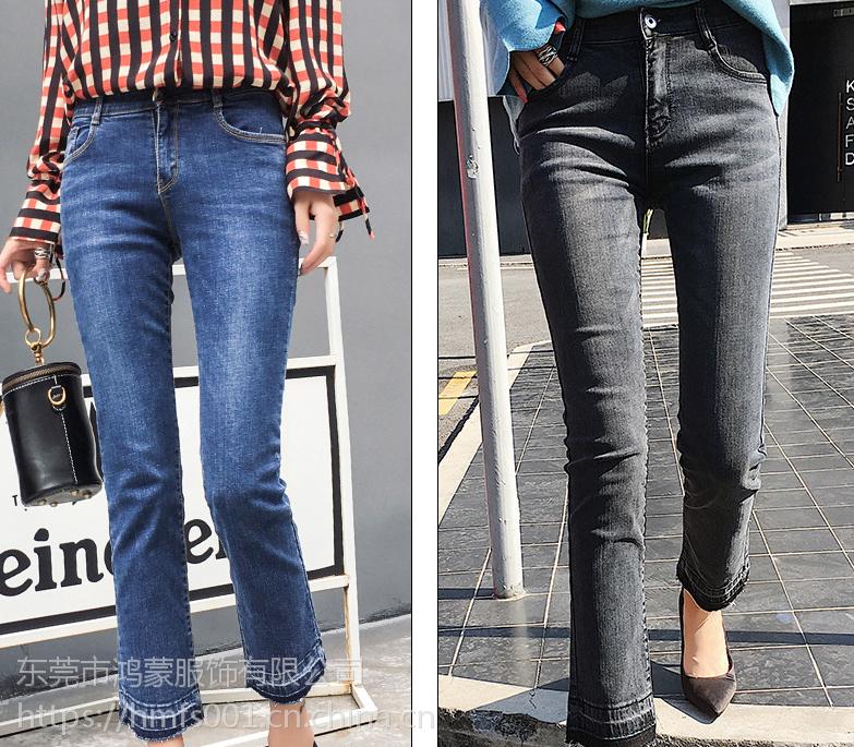 女装尾货牛仔裤批发便宜杂款女士牛仔长裤处理地摊赶集甩卖低价批发