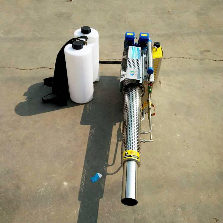 脉冲式汽油弥雾机图片 背负式烟雾水雾机 小型烟雾机 乐民牌