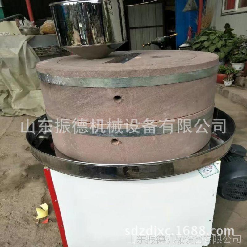 电动石磨机 家用多功能米浆豆浆石磨 振德牌 香油芝麻酱石磨价格