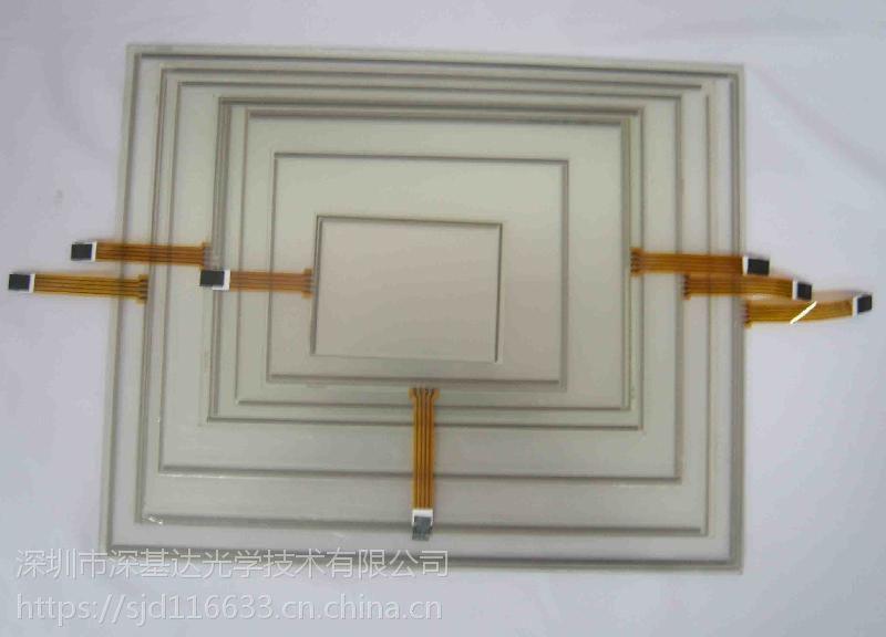 10.4寸4线电阻屏,深基达,工控电阻屏