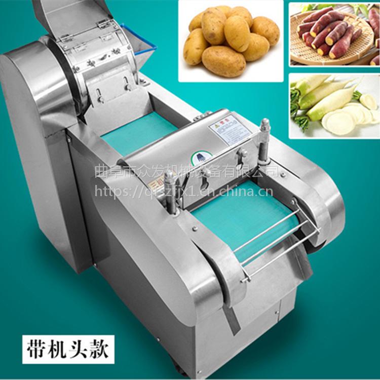 小型电动切菜机多少钱 多功能食堂切丝片丁段机 多功能切辣椒圈