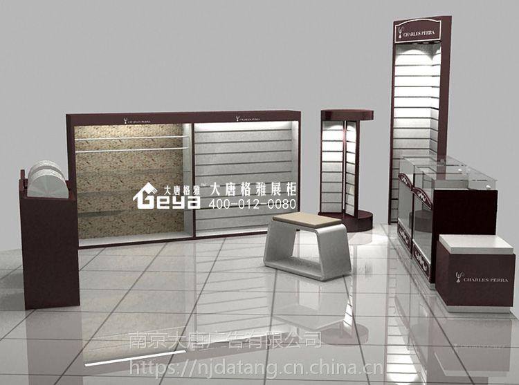 南京饰品展示柜制作-珠宝商业柜台定做免费设计厂家