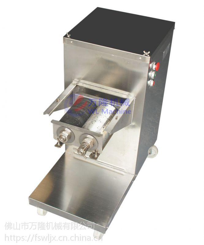 中型立式切肉机 鲜肉切片机 不锈钢熟食切割机