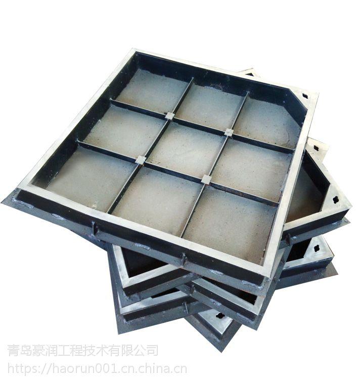 不锈钢井盖,隐形井盖,装饰井盖,青岛豪润有