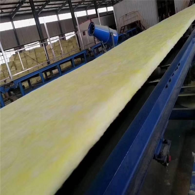 生产加工无甲醛玻璃棉 3-15公分玻璃棉保温板批量价优