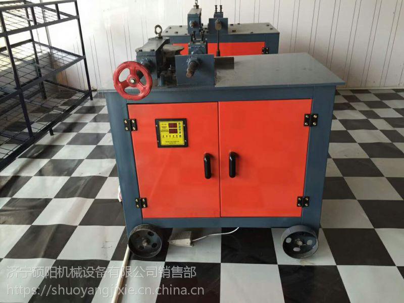 硕阳机械 WG-38平台弯管机厂家