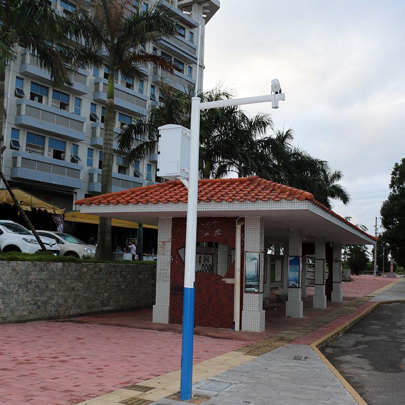 广州市户外道路灯 30W照明灯杆价格多少 镀锌灯杆预埋件