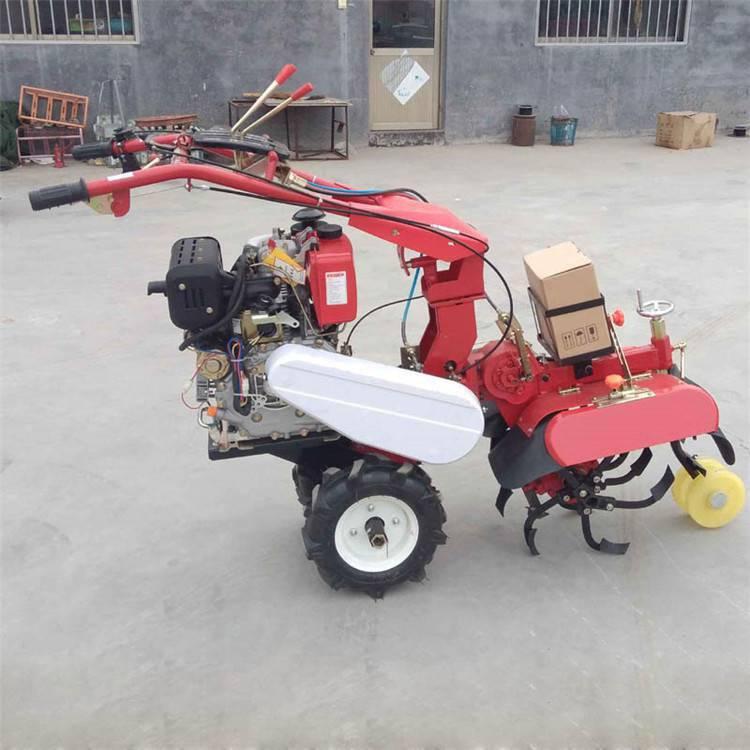 河北施肥开沟机 小型葡萄施肥机 圣鲁大葱种植培土机