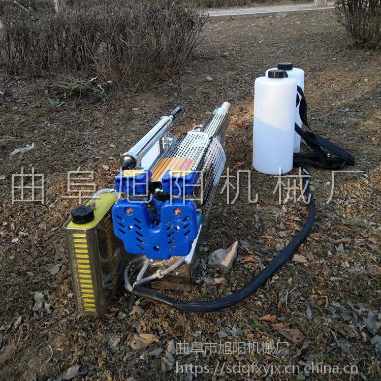 新款水冷双管弥雾机120A茶园杀虫喷雾器城市除四害消杀机