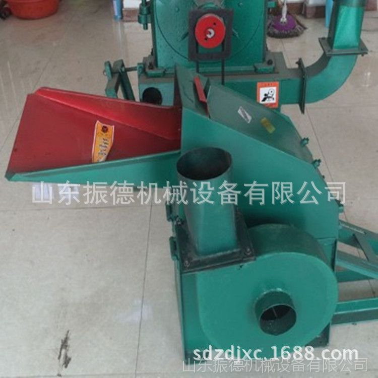 锤片式饲料粉碎机 振德 小型锤片式玉米粉碎机 家用养殖饲料机械