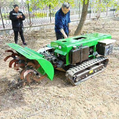 会爬坡履带式开沟施肥回填机 金佳山区果园开沟施肥机 除草回填一体机