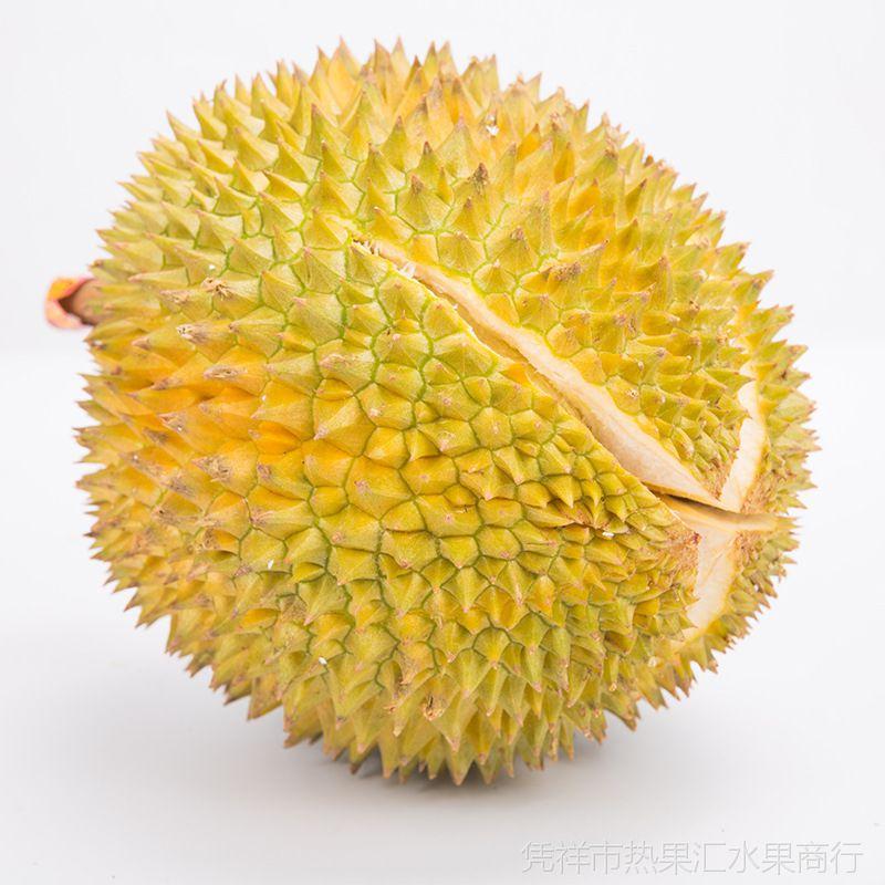 榴莲泰国猫山王榴莲 无核猫山王榴莲 冷冻榴莲肉批发水果4-5斤