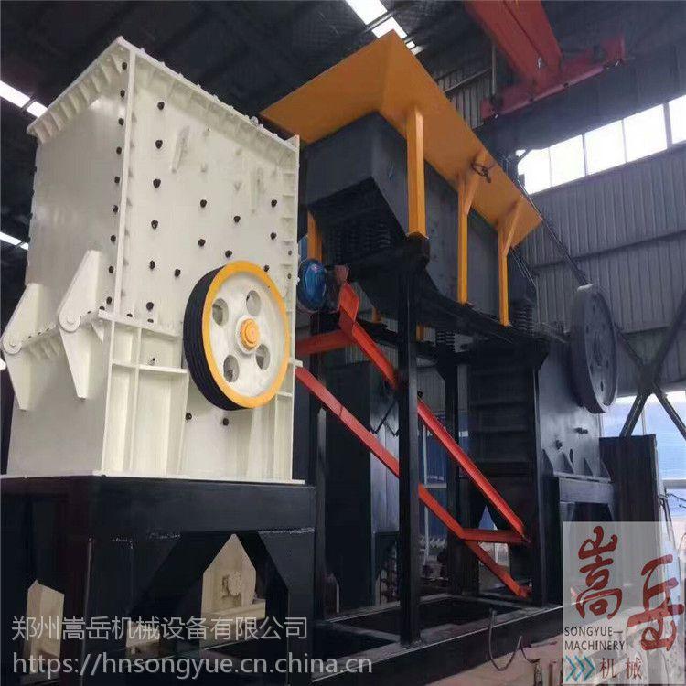 新疆建筑垃圾处理移动破碎站设备 1210建筑垃圾制砂机 移动打石机厂家