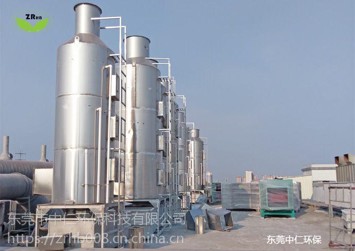 不锈钢水喷淋除尘器的工作原理