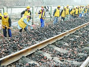 机务段耙子 养路工具1.55kg铁路维护工具 四齿耙清理道渣工具