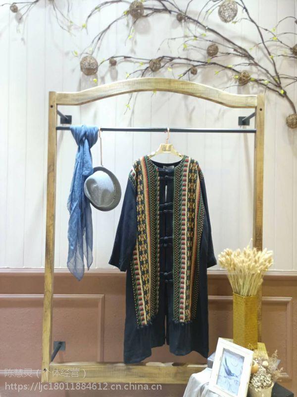 一线大码民族风吉丘古儿品牌女装折扣店进货渠道