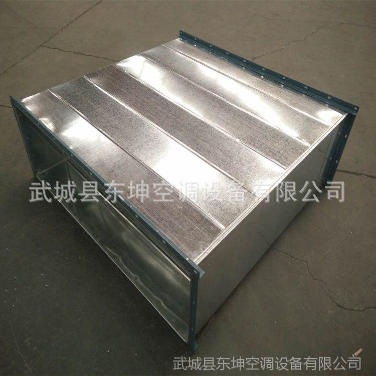 定制加工角钢法兰风管 镀锌钢板风管,角铁法兰风管