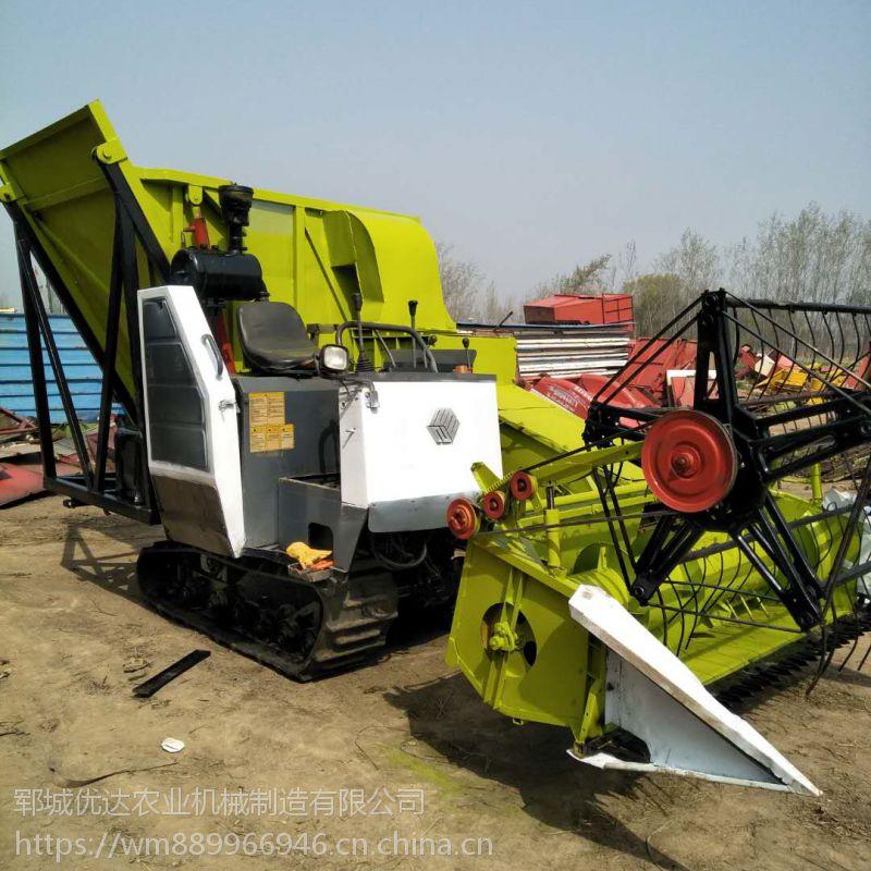 大量出售优达牌125型号青储机 皇竹草收割机 秸秆还田一体机 玉米秸秆青储机厂家