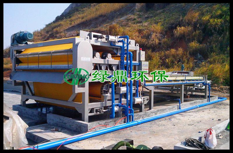 LDBZ河道污泥脱水机 福州二手带式污泥脱水机