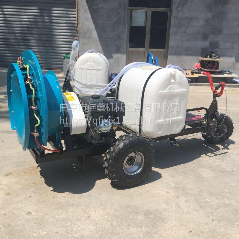 玉米高架喷药车厂家 玉米地操作的打药机 佳鑫远程汽油喷雾器