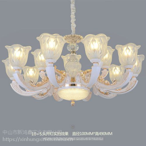 别具一格别墅欧式吊灯古典灯饰根河市客厅水晶灯饰安装