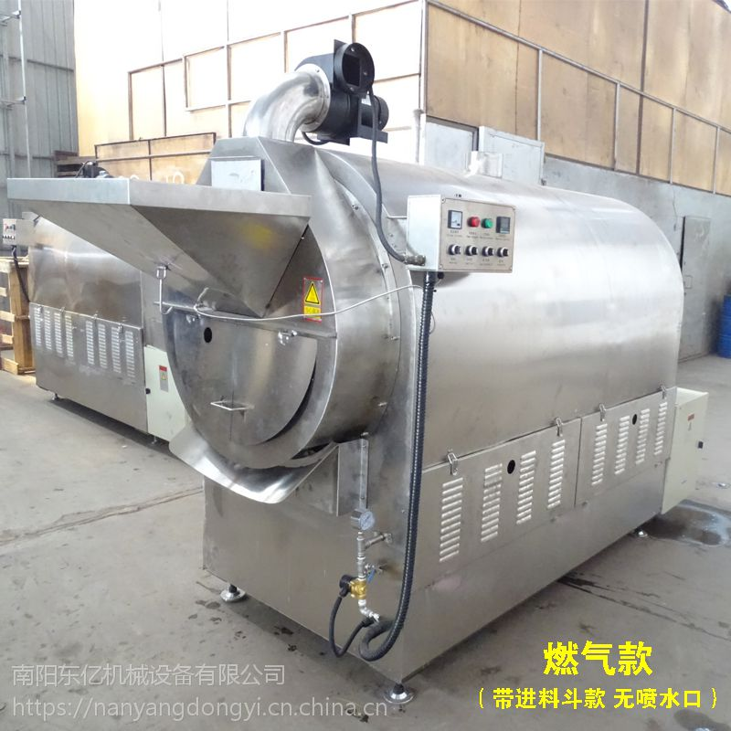 我们掌握了炒制芝麻的秘密 南阳东亿炒芝麻专业设备15688198688