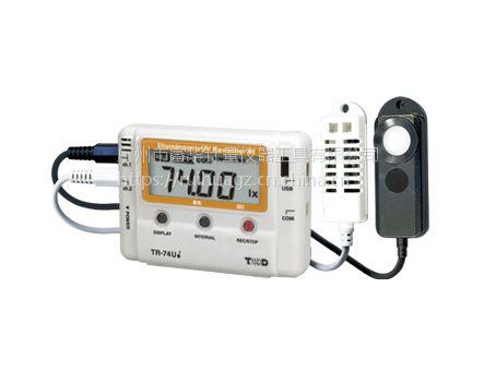 TANDD日本TR-74Ui-S多功能电子温湿度计紫外线照度计