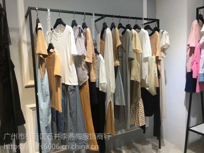 女装库存尾货夏柏18年夏装专柜正品尾货批发走份广州有没有一手货源