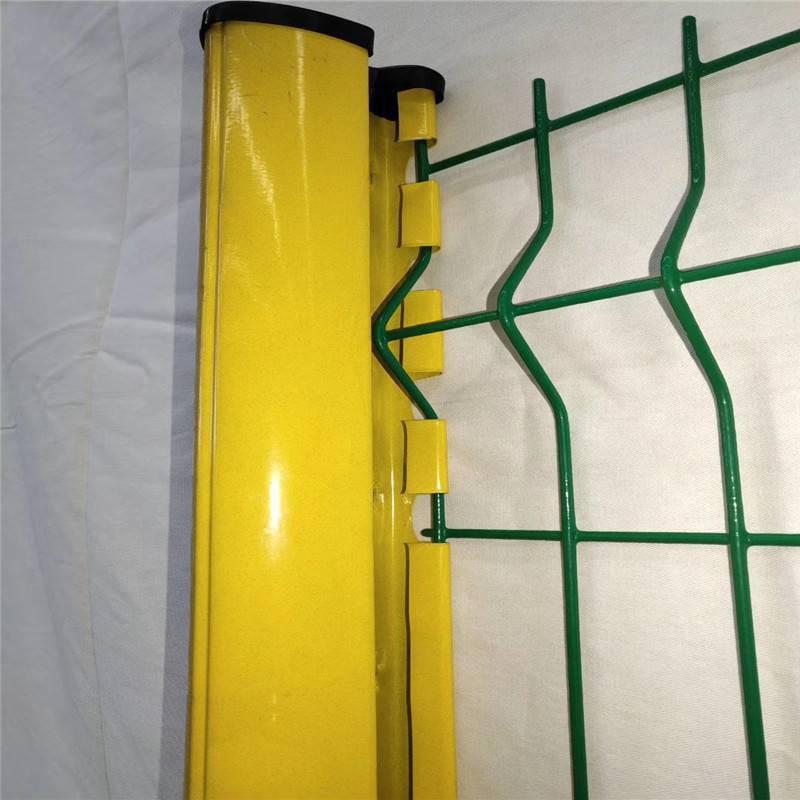 厂区围栏网 拆卸方便的护栏 企业围墙网