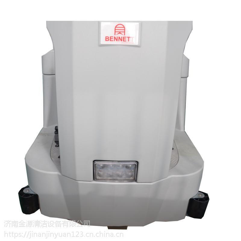 潍坊驾驶大型刷地机大理石地面清洗设备贝纳特Dragoon 100B洗地机免费试机