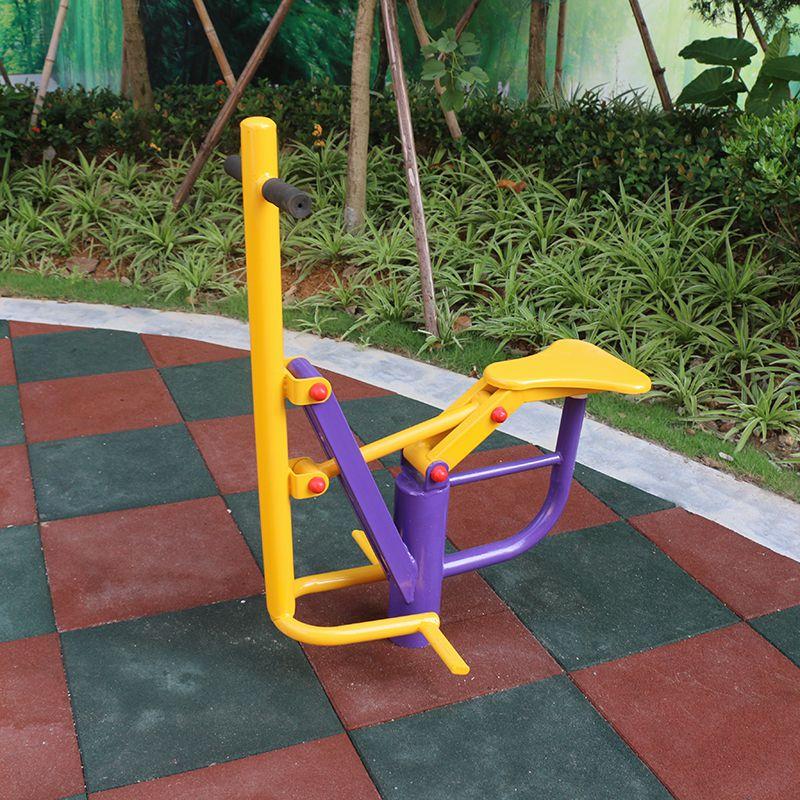 番禺小区健身器材布置图 114管材揉推器锻炼方法 儿童健身设备