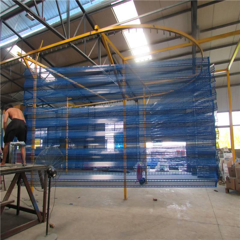防风抑尘网技术参数 山西防风网 焦化厂挡风墙