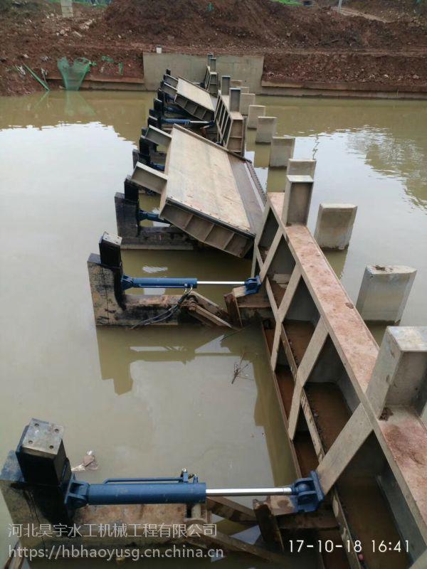 河北昊宇水工拦水行洪液压升降坝欢迎选购