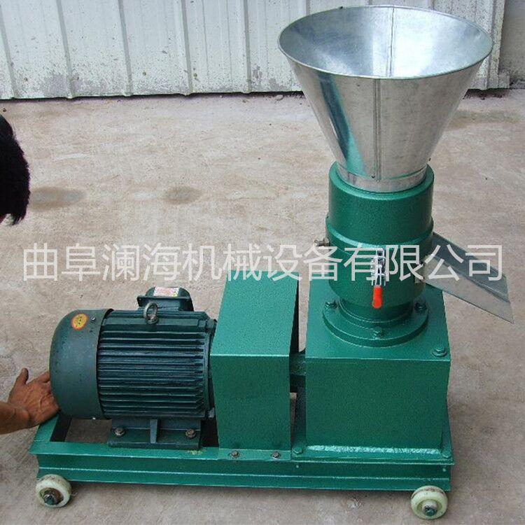 大产量颗粒机 秸秆牛羊颗粒饲料成型机 小型饲料机