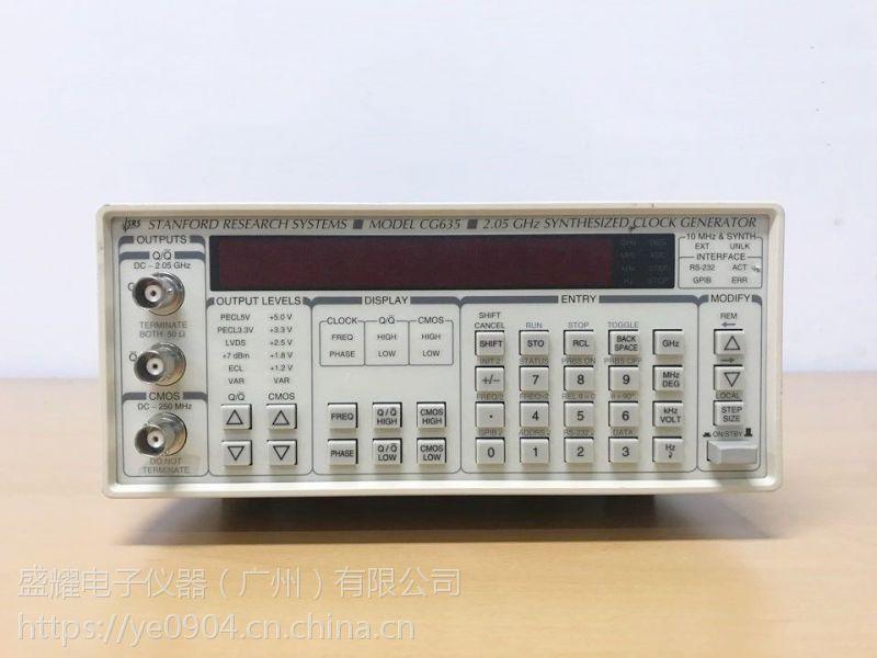 租售、回收租售、回收罗德与施瓦茨CG635合成时钟发生器