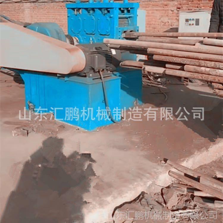 汇鹏 架子管圆管压扁切断机 批发零售 钢管滚切机 厂家