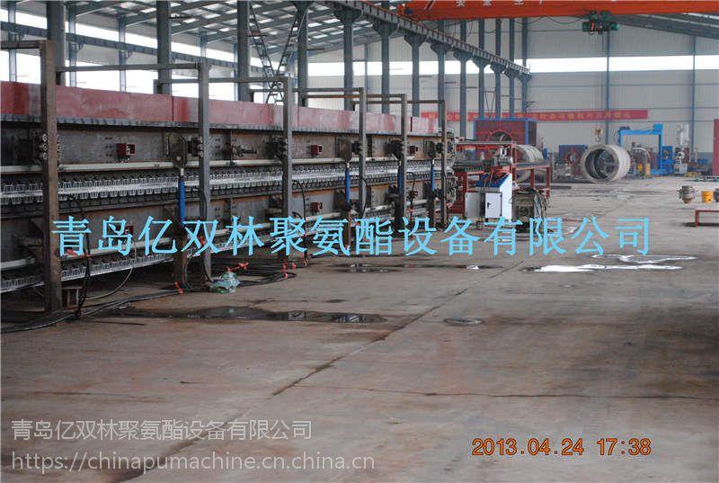 亿双林供应聚氨酯 彩瓦保温板发泡生产机械设备