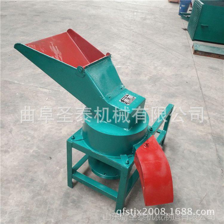 横向出料的刀片式打浆机 高度耐磨锰钢材质草类打浆机