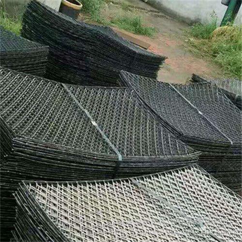 平台踏板网丝径要求 脚手架钢板网 菱型钢笆片